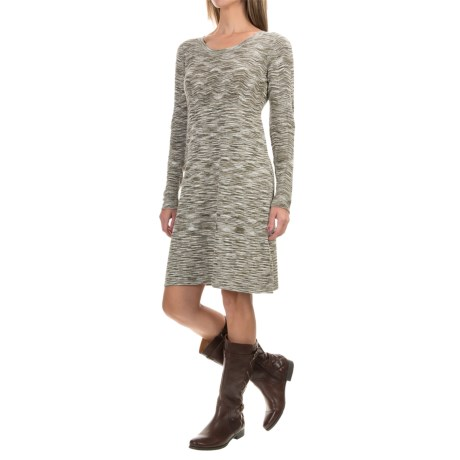 Aventura Clothing Gemma Dress - Long Sleeve (For Women) in Olive