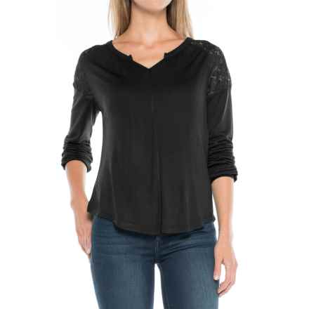 Aventura Clothing Ginger Shirt - Long Sleeve (For Women) in Black - Closeouts