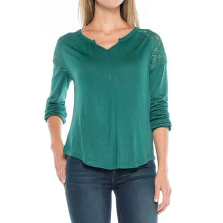 Aventura Clothing Ginger Shirt - Long Sleeve (For Women) in Shaded Spruce - Closeouts