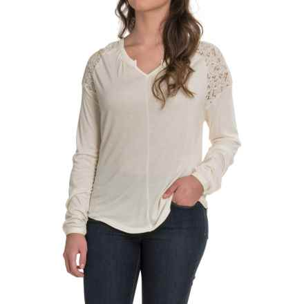 Aventura Clothing Ginger Shirt - Long Sleeve (For Women) in Whisper White - Closeouts