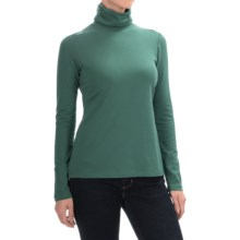 Aventura Clothing Glenora Turtleneck - Long Sleeve (For Women) in Blue Spruce - Closeouts