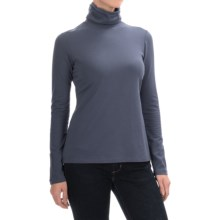 Aventura Clothing Glenora Turtleneck - Long Sleeve (For Women) in Grisaille - Closeouts