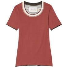 Aventura Clothing Grace T-Shirt - Organic Cotton, Short Sleeve (For Women) in Tabasco - Closeouts
