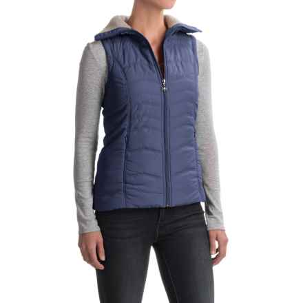 Aventura Clothing Granada Vest - Front Zip (For Women) in Blue Indigo - Closeouts