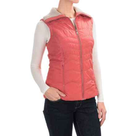 Aventura Clothing Granada Vest - Front Zip (For Women) in Garnet Rose - Closeouts
