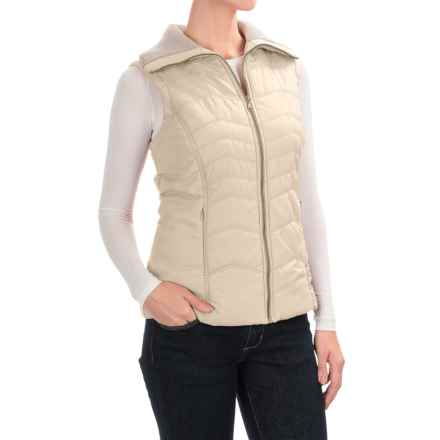 Aventura Clothing Granada Vest - Front Zip (For Women) in Whisper White - Closeouts