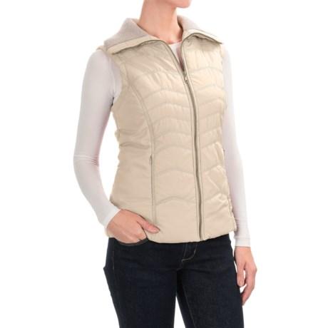 Aventura Clothing Granada Vest - Front Zip (For Women) in Whisper White