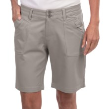Aventura Clothing Greenwood Shorts (For Women) in Frost Grey - Closeouts