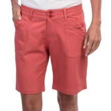 Aventura Clothing Greenwood Shorts (For Women) in Mineral Red - Closeouts