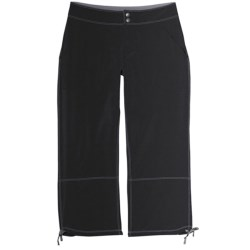 Aventura Clothing Hadyn Capris - Stretch Poplin (For Women) in Black
