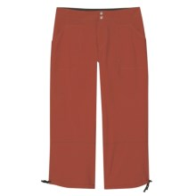 Aventura Clothing Hadyn Capris - Stretch Poplin (For Women) in Tabasco - Closeouts