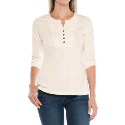Aventura Clothing Harley Shirt - Organic Cotton, Long Sleeve (For Women) in Whisper White - Closeouts