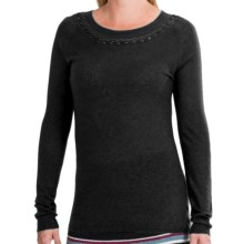 Aventura Clothing Haskell Sweater -Cashmere Blend (For Women) in Black - Closeouts