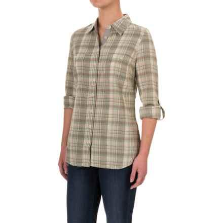 Aventura Clothing Hathaway Shirt - Organic Cotton, Long Sleeve (For Women) in Rock Ridge - Closeouts