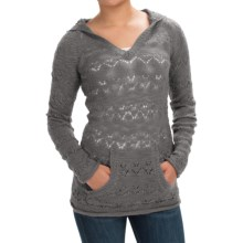 Aventura Clothing Idyllwild Hoodie Sweater (For Women) in Smoked Pearl - Closeouts