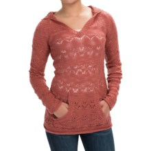 Aventura Clothing Idyllwild Sweater - Hooded (For Women) in Dusty Cedar - Closeouts