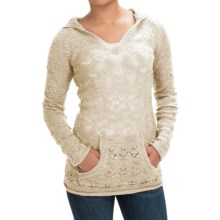 Aventura Clothing Idyllwild Sweater - Hooded (For Women) in Whisper White - Closeouts