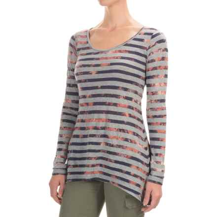 Aventura Clothing Isobel Shirt - Jersey Knit, Long Sleeve (For Women) in Patriot Blue - Closeouts