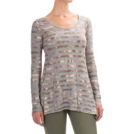 Aventura Clothing Isobel Shirt - Jersey Knit, Long Sleeve (For Women) in Smoked Pearl - Closeouts