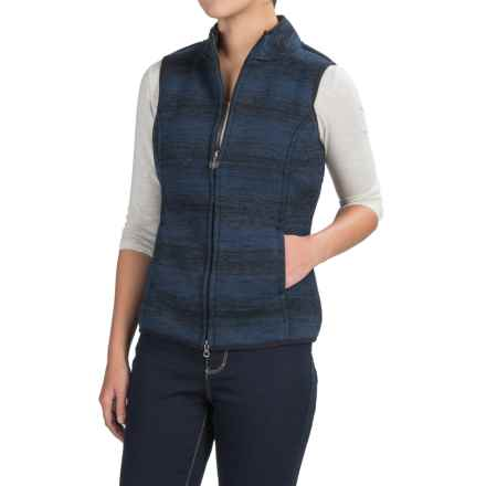 Aventura Clothing Jillian Vest (For Women) in Blue Indigo - Closeouts