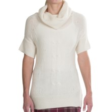 Aventura Clothing Jolie Sweater - Short Sleeve (For Women) in Whisper White - Closeouts