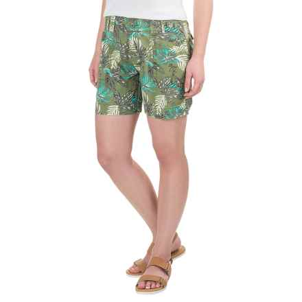 Aventura Clothing Kailyn Shorts - Organic Cotton (For Women) in Blue Turquoise - Closeouts