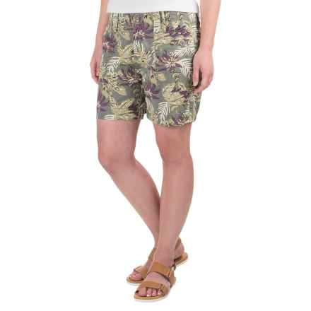 Aventura Clothing Kailyn Shorts - Organic Cotton (For Women) in Grapeade - Closeouts