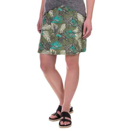Aventura Clothing Kailyn Skirt - Organic Cotton (For Women) in Blue Turquoise - Closeouts