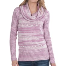 Aventura Clothing Kalia Sweater - Cowl Neck (For Women) in Dusty Lavender - Closeouts