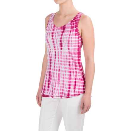 Aventura Clothing Kerrick Tank Top - Cotton-Modal (For Women) in Festival Fuchsia - Closeouts