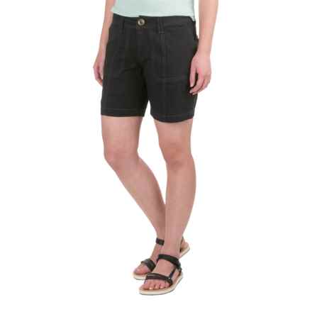 Aventura Clothing Kiefer Shorts - Organic Cotton (For Women) in Black - Closeouts