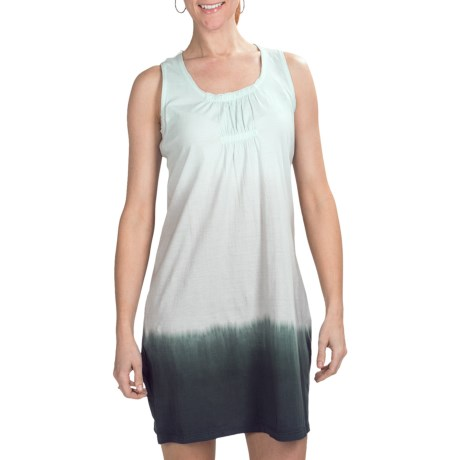 Aventura Clothing Kincade Dress - Organic Cotton, Sleeveless (For Women) in Cloud Blue