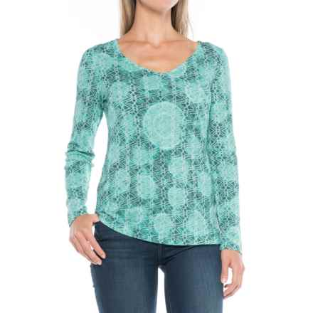 Aventura Clothing Kori Shirt - Long Sleeve (For Women) in Shaded Spruce - Closeouts