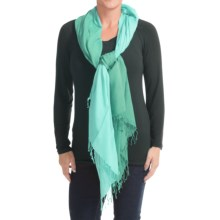 Aventura Clothing Kristen Scarf (For Women) in Porcelain Green - Closeouts