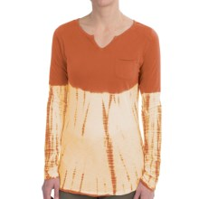 Aventura Clothing Krysta Shirt - Organic Cotton-Modal, Long Sleeve (For Women) in Ginger Spice - Closeouts