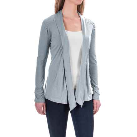 Aventura Clothing Kyle Cardigan Shirt - Long Sleeve (For Women) in Tradewinds - Closeouts