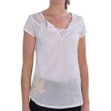 Aventura Clothing Kyler Shirt - Organic Cotton, Short Sleeve (For Women) in White - Closeouts