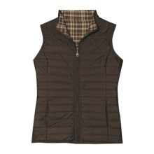 Aventura Clothing Landyn Quilted Vest - Reversible (For Women) in Espresso - Closeouts