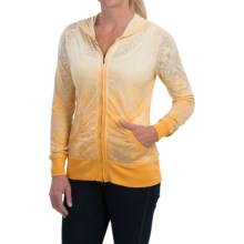Aventura Clothing Lantana Hoodie - Full Zip (For Women) in Chamomile - Closeouts