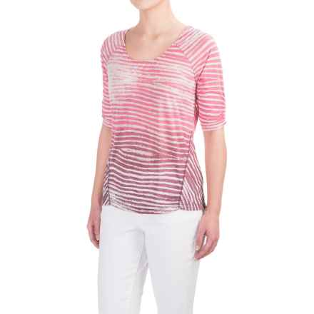 Aventura Clothing Larson Shirt - Elbow Sleeve (For Women) in Baroque Rose - Closeouts