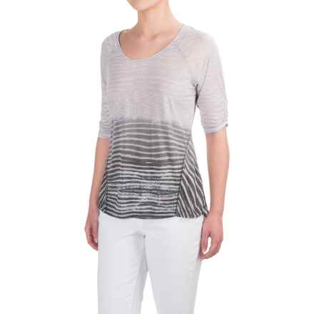 Aventura Clothing Larson Shirt - Elbow Sleeve (For Women) in Tradewinds - Closeouts