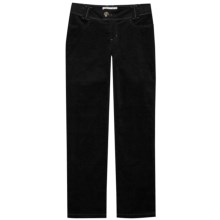 Aventura Clothing Lauren Pants - Stretch Cotton Corduroy, Mid Rise (For Women) in Black - Closeouts