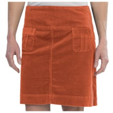 Aventura Clothing Leah Corduroy Skirt - Organic Cotton (For Women) in Picante - Closeouts
