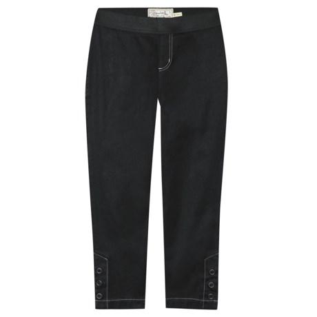 Aventura Clothing Liz Capri Jeggings (For Women) in Black