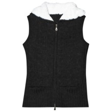 Aventura Clothing Lockhart Hooded Sweater Vest (For Women) in Black - Closeouts