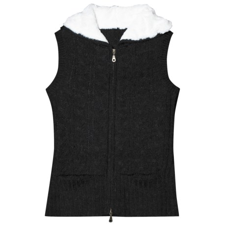 Aventura Clothing Lockhart Hooded Sweater Vest (For Women) in Black