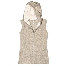 Aventura Clothing Lockhart Hooded Sweater Vest (For Women) in Oatmeal - Closeouts