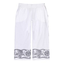 Aventura Clothing Luca Capris (For Women) in White - Closeouts