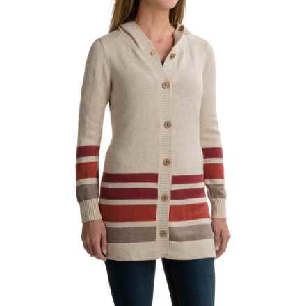 Aventura Clothing Lucy Cardigan Sweater (For Women) in Heathered Oatmeal - Closeouts