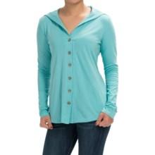 Aventura Clothing Luna Sweater - Organic Cotton Blend (For Women) in Aqua Sea - Closeouts
